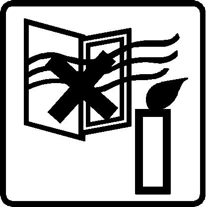 Gyertya biztonsági matrica3