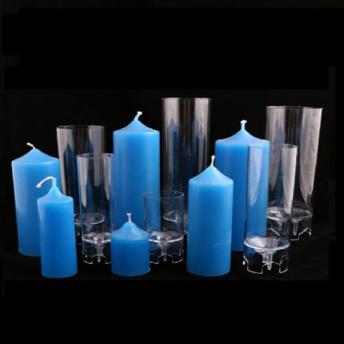 Műanyag gyertyaöntő forma