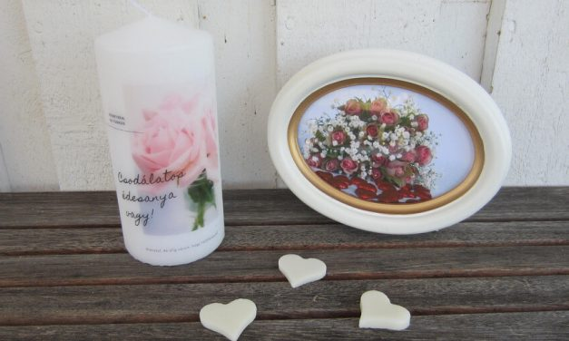Ajándék Anyák napjára – 5 egyedi gyertyaötlet