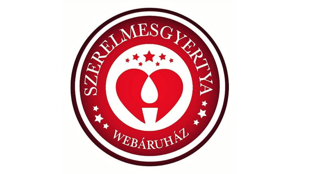 Szerelmesgyertya logó