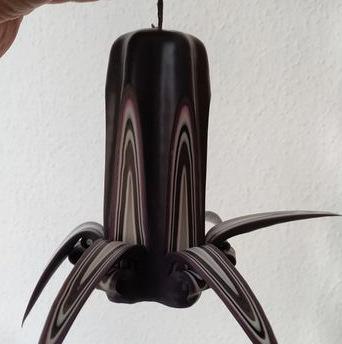 Tündöklő gyertyaműhely faragott gyertya kézzel készül