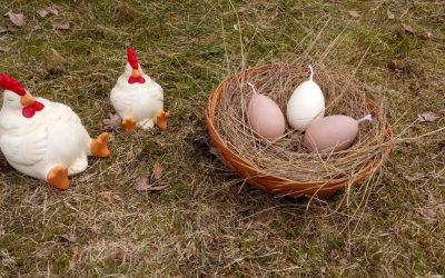 Húsvéti gyertya repceviaszból