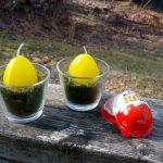 Húsvéti kreatívkodás – Kinder joy tojásgyertya