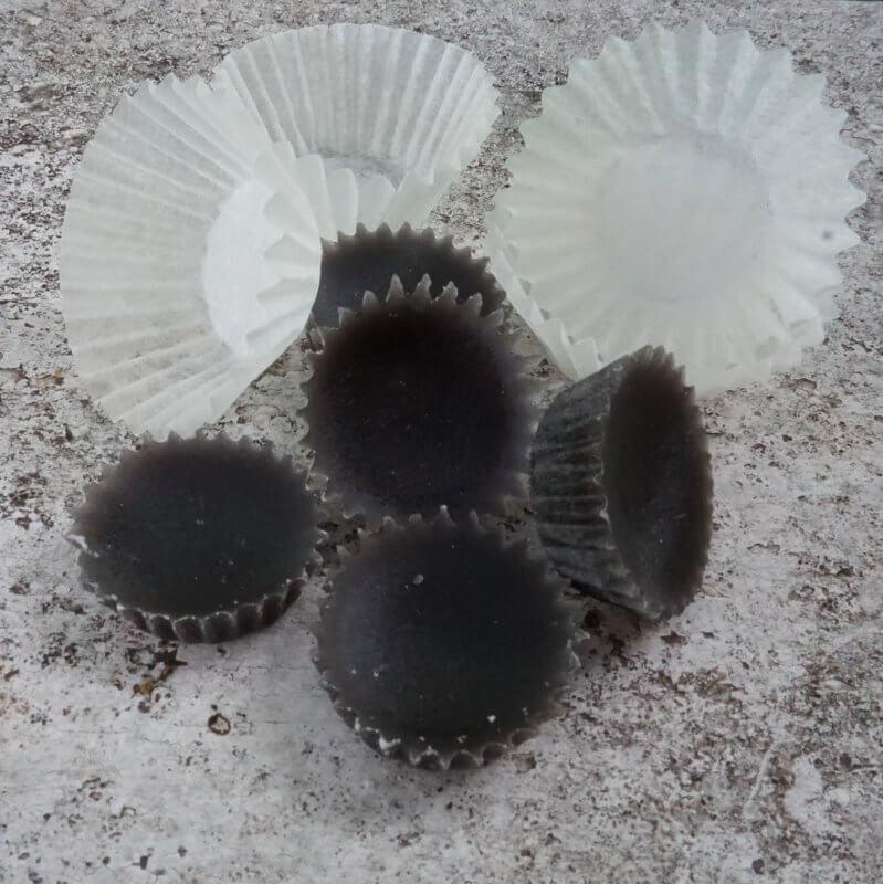 csokipraliné viaszból